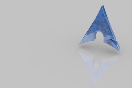 Arch Logo Blue