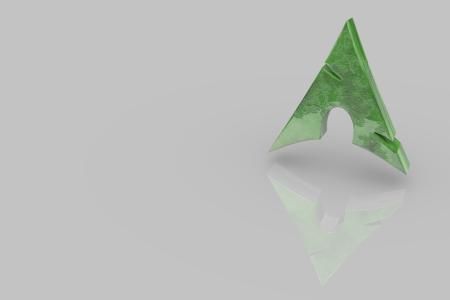 Arch Logo Green