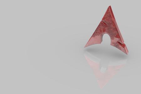Arch Logo Red
